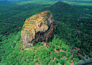 City of Sigiriya. Sri Lanka